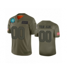 Youth Miami Dolphins Customized Camo 2019 Salute to Service Limited Jersey