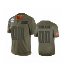 Youth Los Angeles Rams Customized Camo 2019 Salute to Service Limited Jersey