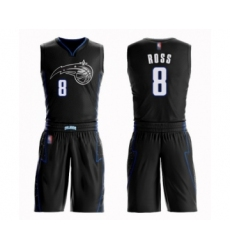 Men's Orlando Magic #8 Terrence Ross Authentic Black Basketball Suit Jersey - City Edition