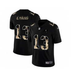 Men's Tampa Bay Buccaneers #13 Mike Evans Limited Black Statue of Liberty Football Jersey