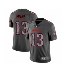 Men's Tampa Bay Buccaneers #13 Mike Evans Limited Gray Static Fashion Football Jersey